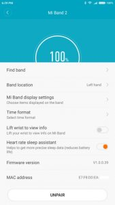 Mi Fit Installation 6