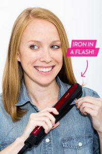 Hair Straightener to Iron your collar